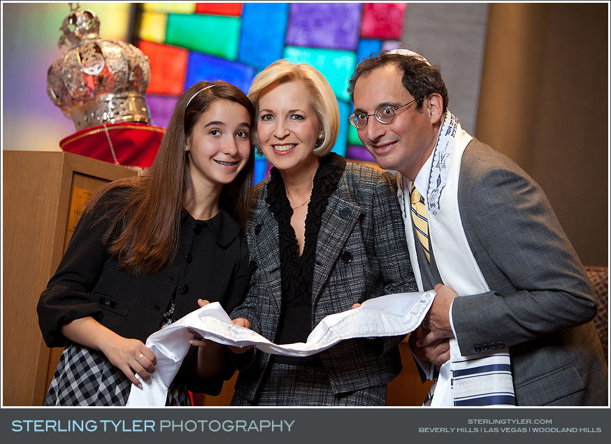 Valley Beth Shalom Bat Mitzvah Photography