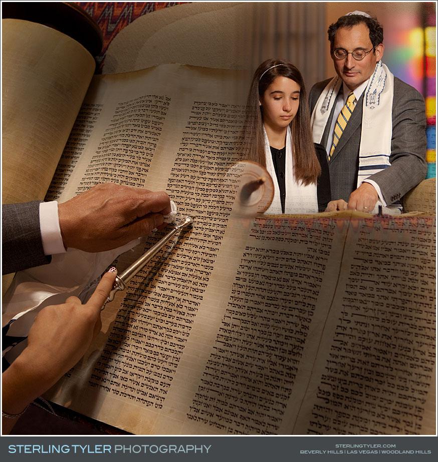 Valley Beth Shalom Bat Mitzvah Photography