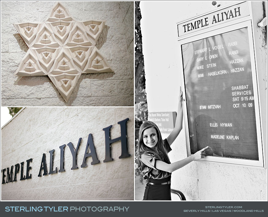 Temple Aliyah Bat Mitzvah