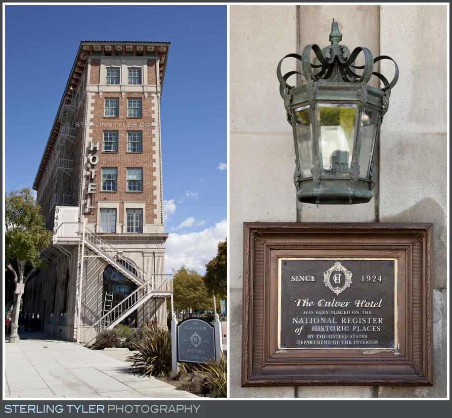Culver Hotel Wedding Photography