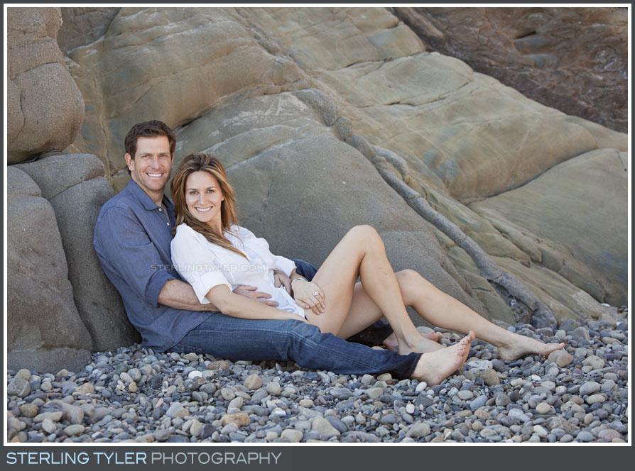 Malibu Engagement Portrait