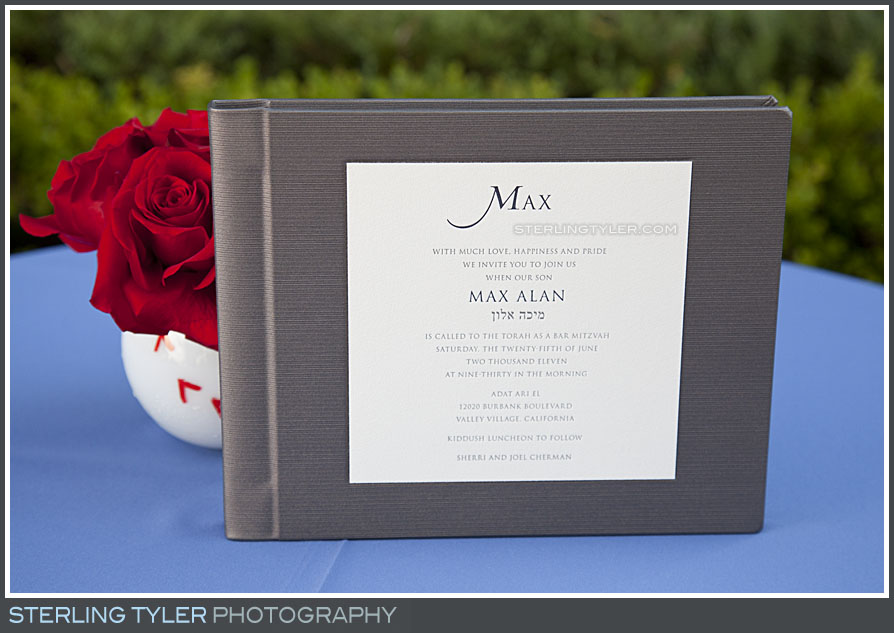 Bar Mitzvah Guest Book