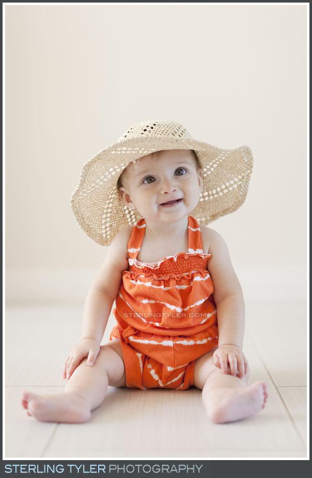 Calabasas Baby Portrait