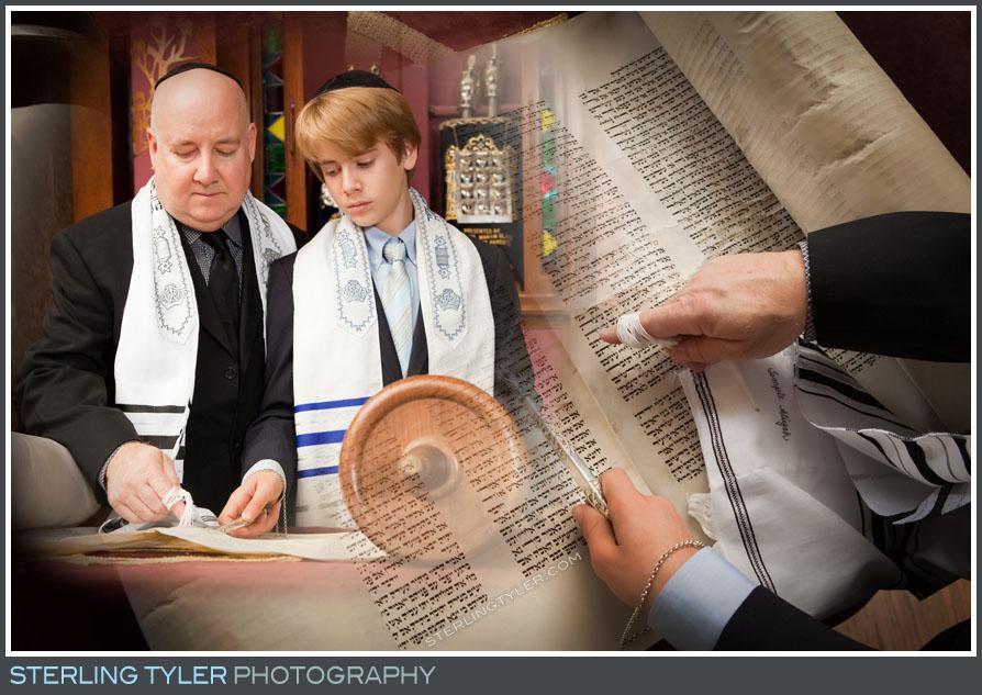 Temple Aliyah Bar Mitzvah Portrait Photography