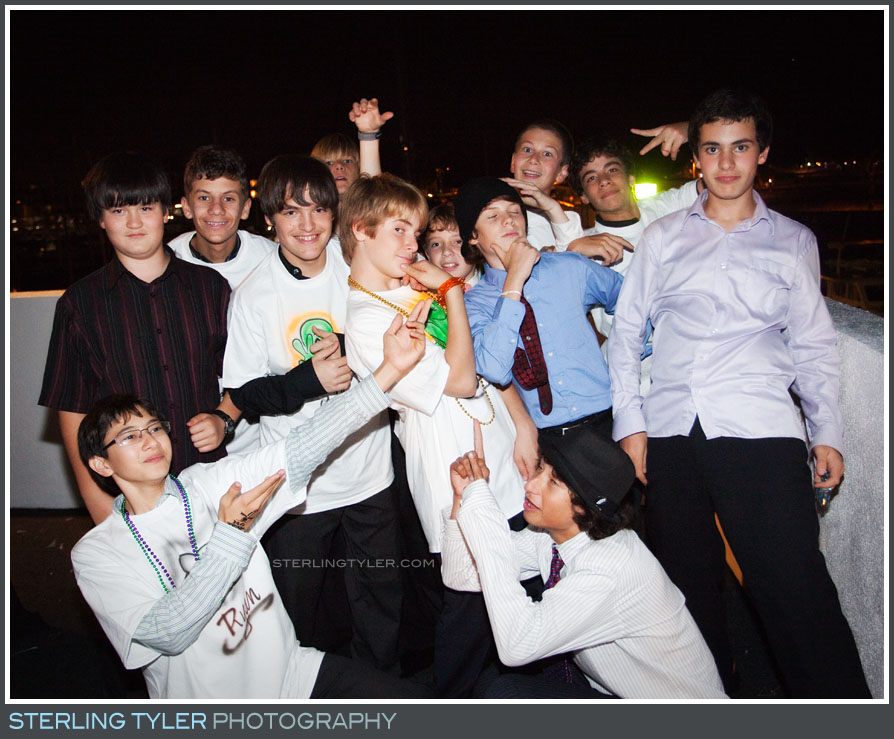 FantaSea Yatch Marina Del Rey Bar Mitzvah Reception Photography