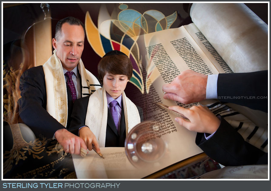 Chabad of the Beach Cities Bar Mitzvah photography