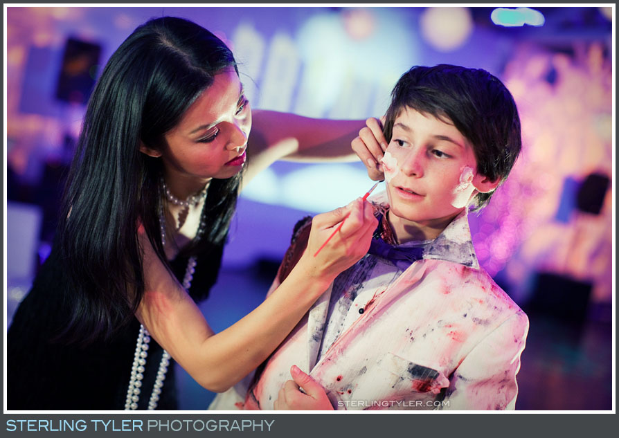 Angelina Cheng Makeup Artist for Halloween Bar Mitzvah