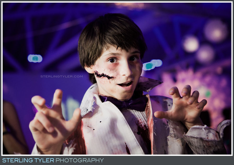 Halloween Themed Bar Mitzvah Portraits