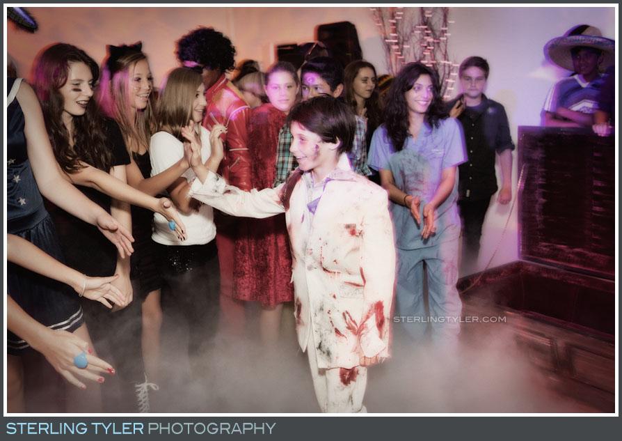 Halloween Themed Bar Mitzvah photography