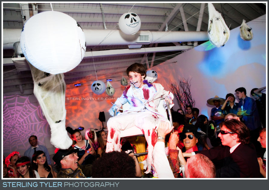 Halloween Themed Bar Mitzvah photos
