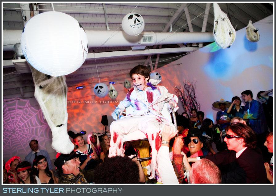 Halloween Themed Bar Mitzvah photos