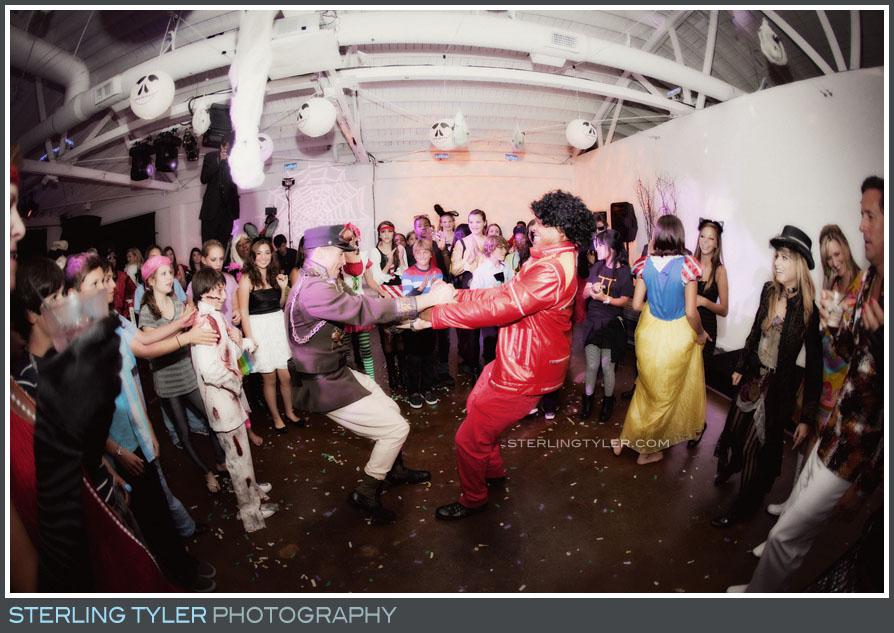 Halloween Themed Bar Mitzvah photo