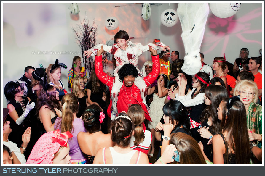 Halloween Themed Bar Mitzvah photography