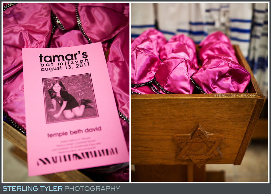 The Temple Beth David Bat Mitzvah Portrait