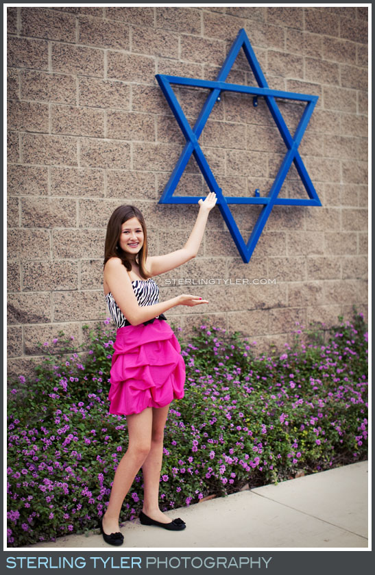 Pink Bat Mitzvah Theme photo