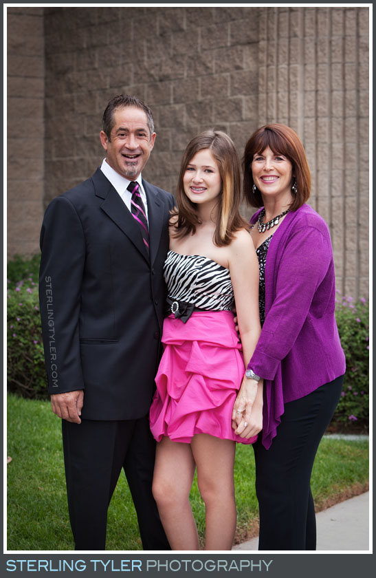 The Temple Beth David Bat Mitzvah Family Portrait