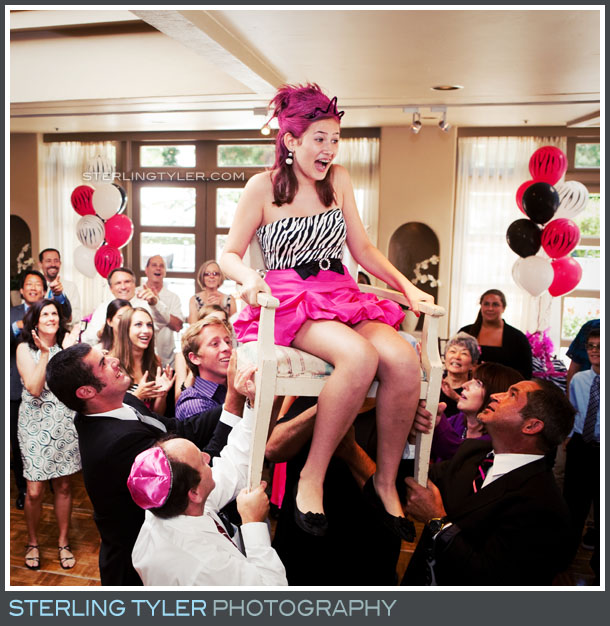 Promenade Turnip Rose Bat Mitzvah Reception Portrait
