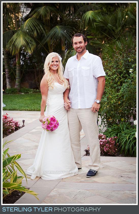 Huntington Beach Wedding Reception Portrait Photography