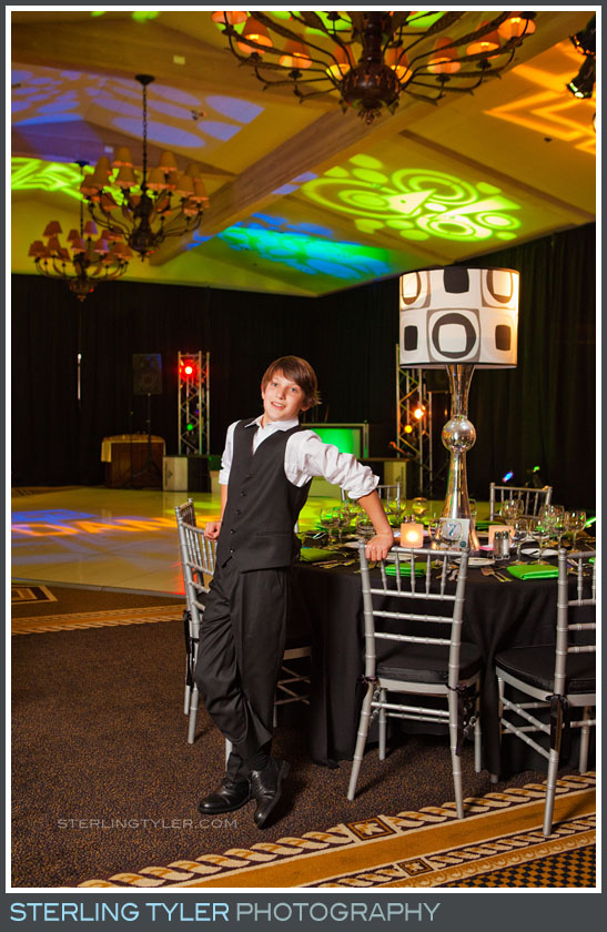 El Caballero Country Club Bar Mitzvah Reception Portrait Photography