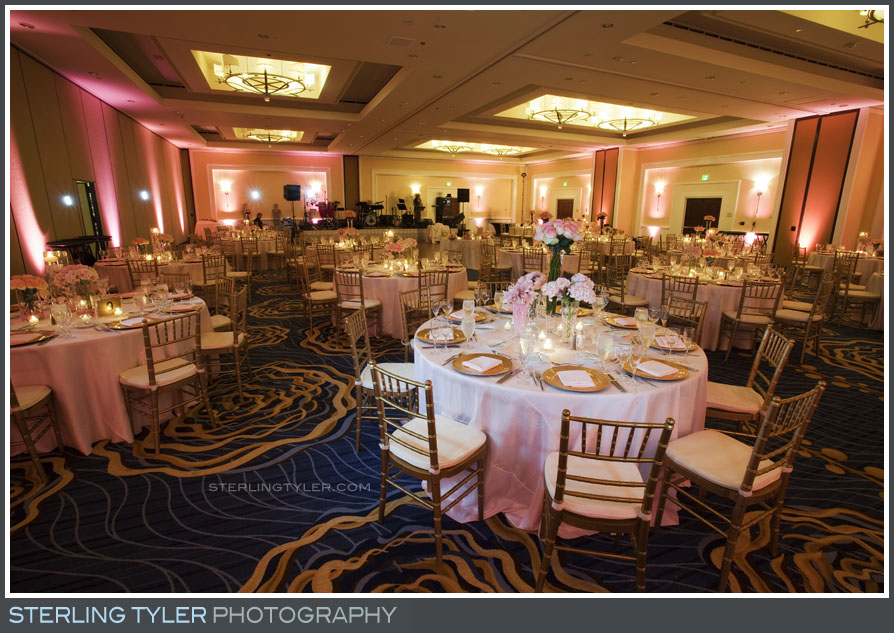 Laguna Cliffs Marriott Resort and Spa Wedding Reception Photography
