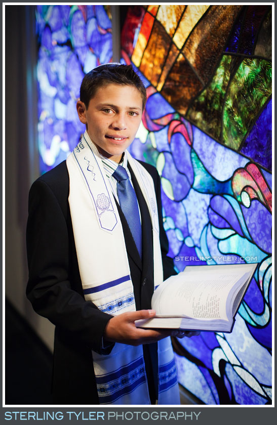 Temple Adat Alohim Bar Mitzvah Portrait Photo