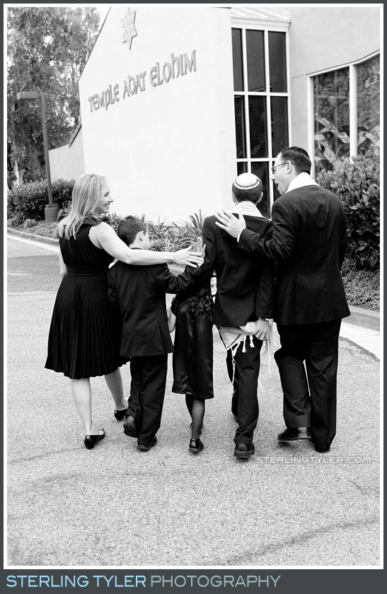 Temple Adat Alohim Bar Mitzvah Portrait Photos