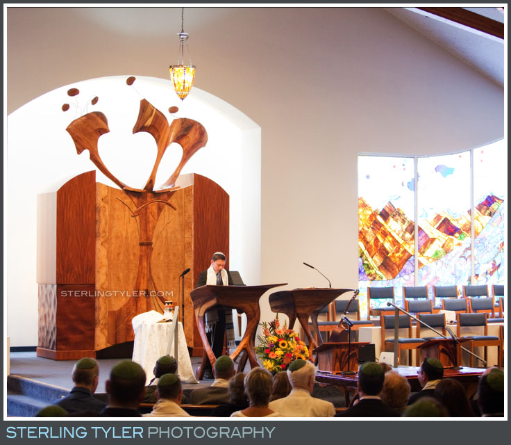 Temple Adat Alohim Bar Mitzvah Ceremony Photography