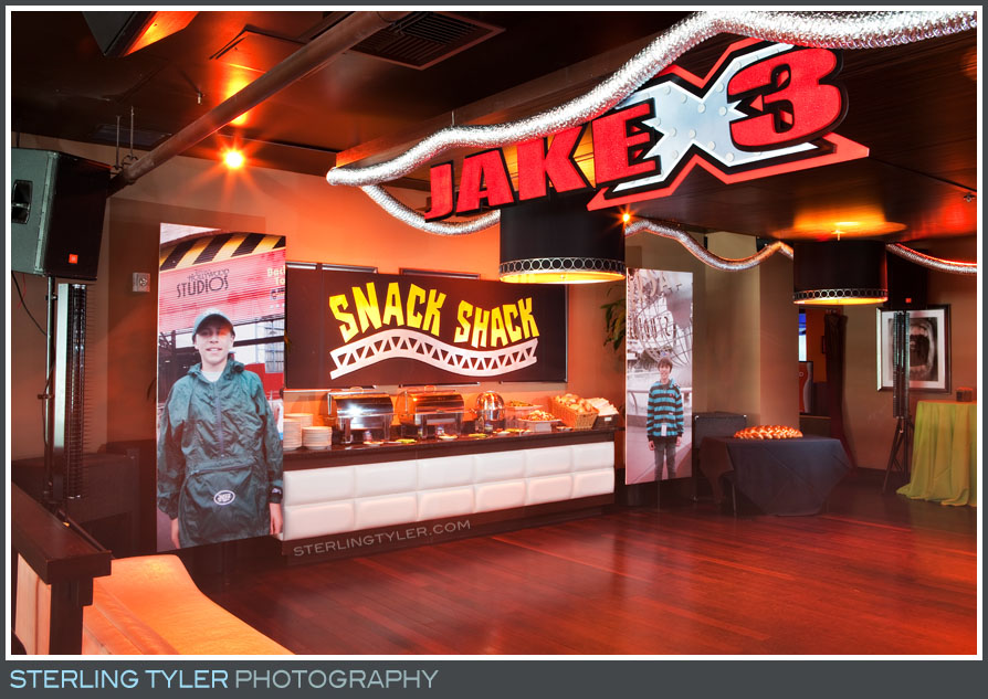 Lucky Strike Bowling Bar Mitzvah Reception Photo