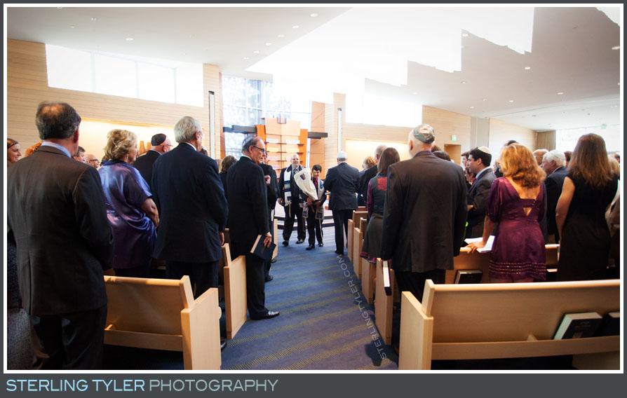 bar mitzvah service temple judea
