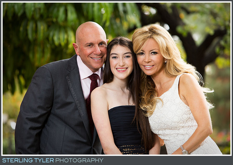 stephen s wise temple bat mitzvah portrait family parents