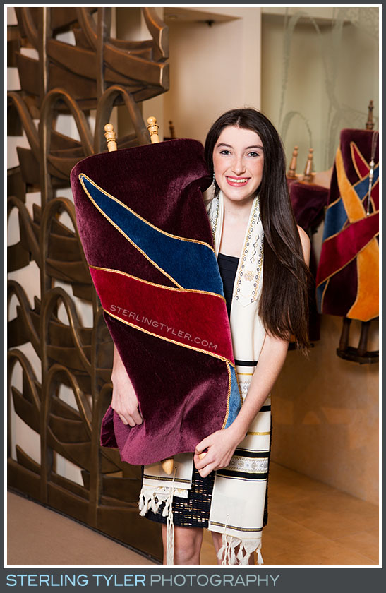 stephen s wise temple bat mitzvah portrait torah