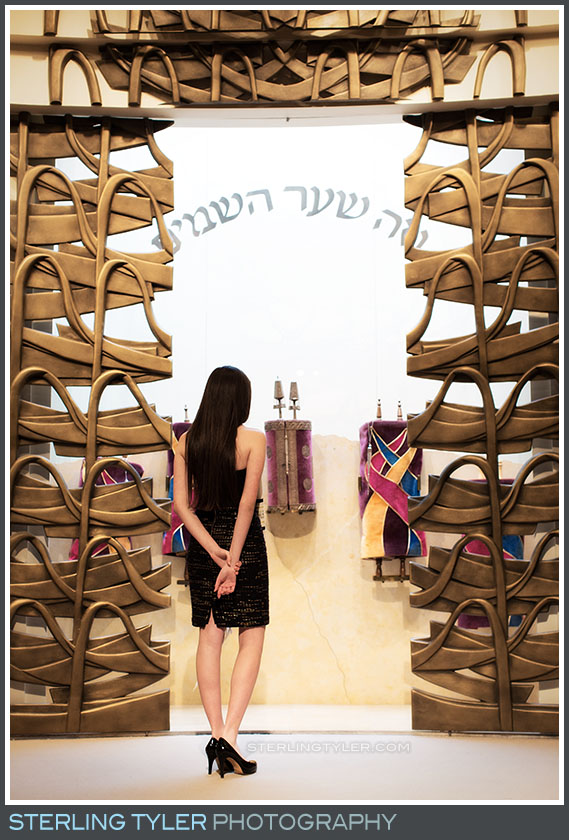 stephen s wise temple bat mitzvah portrait torah