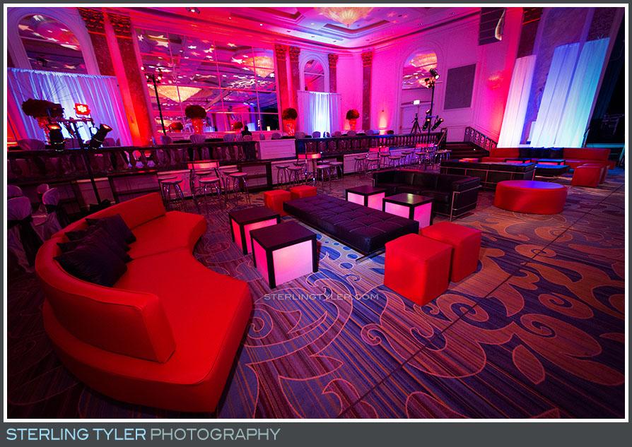 regional beverly hotel bat mitzvah decor reception
