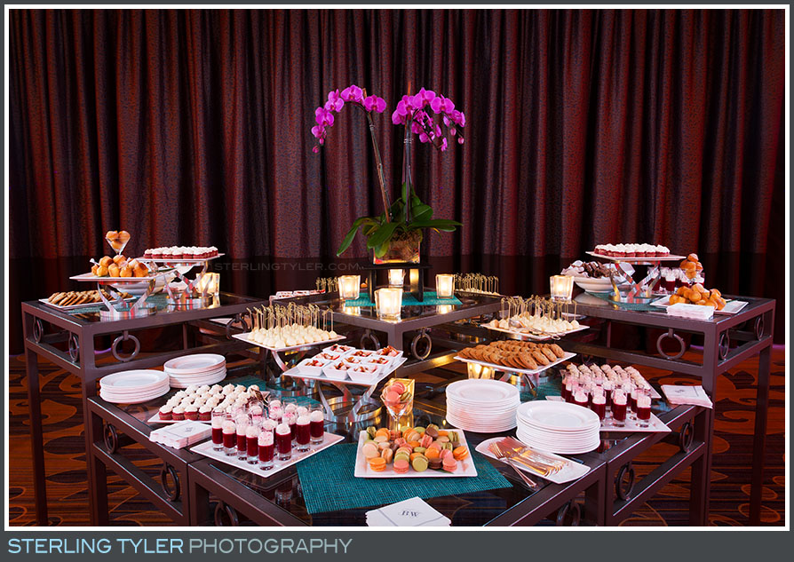regional beverly hotel bat mitzvah reception desert decor