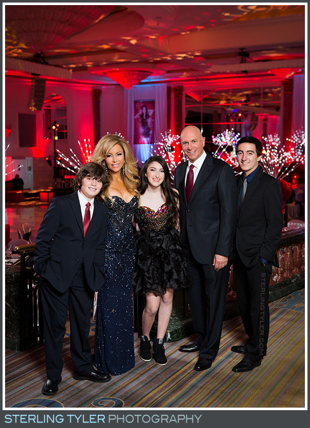 regional beverly hotel bat mitzvah portait family reception