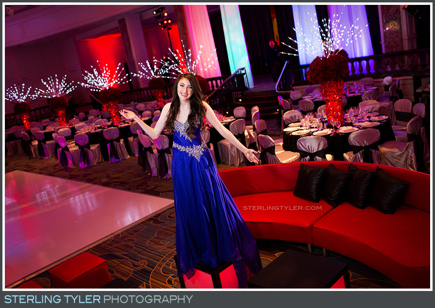 regional beverly hotel bat mitzvah portait reception