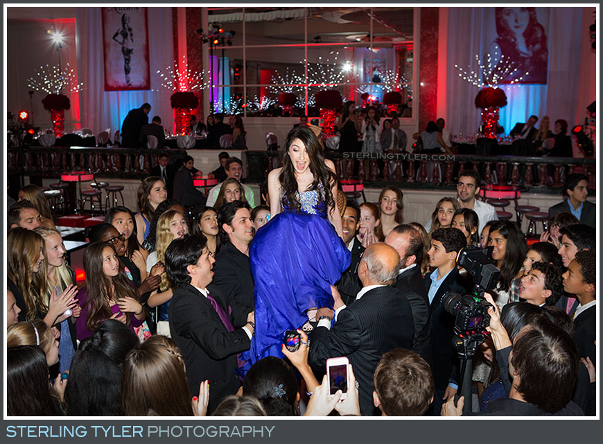 bat mitzvah hora portrait regional beverly wilshire hotel reception