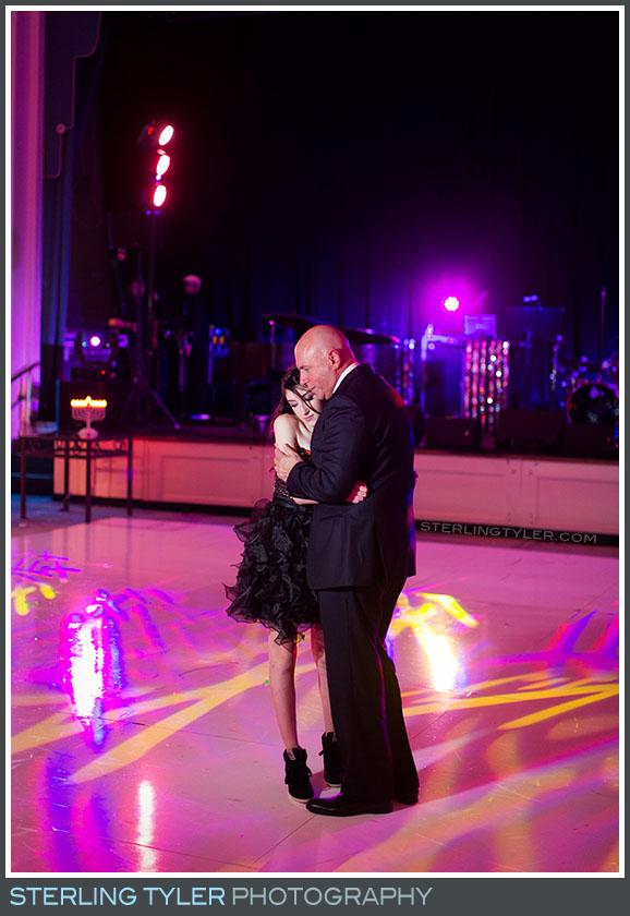 father daughter dance bat mitzvah reception regional beverly wilshire hotel