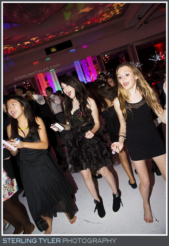 regional beverly wilshire hotel reception bat mitzvah dance portrait