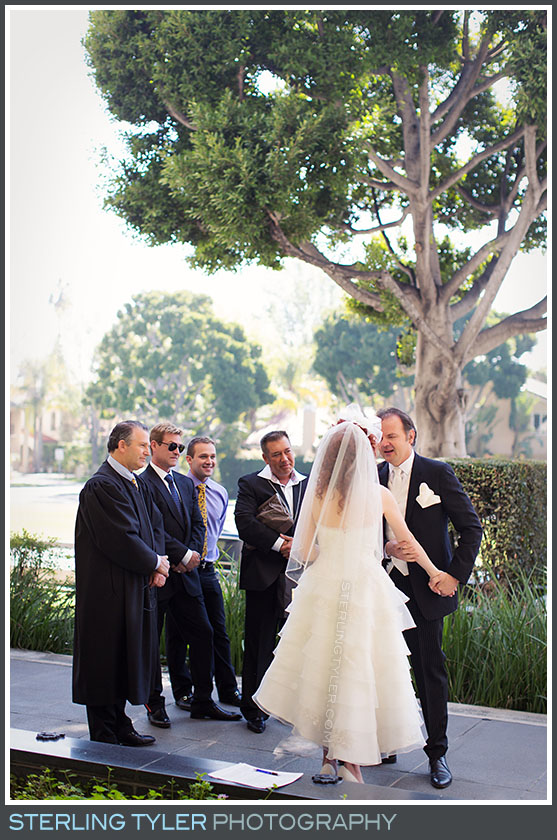 The Beverly Hills Valentines Day Wedding Ceremony Photography