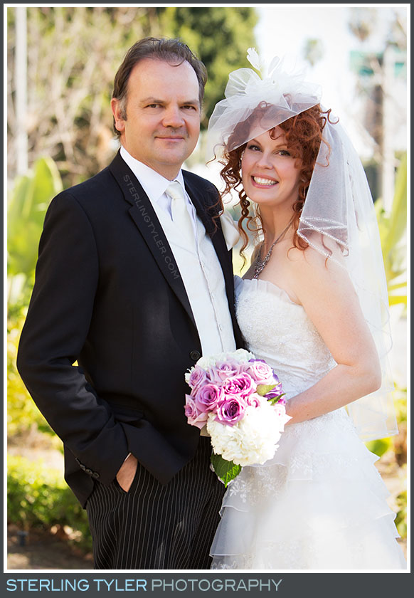The Beverly Hills Valentines Day Wedding Portrait Photography