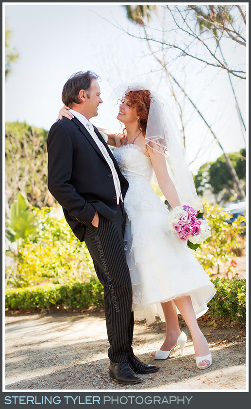 The Beverly Hills Valentines Day Wedding Portrait Photo